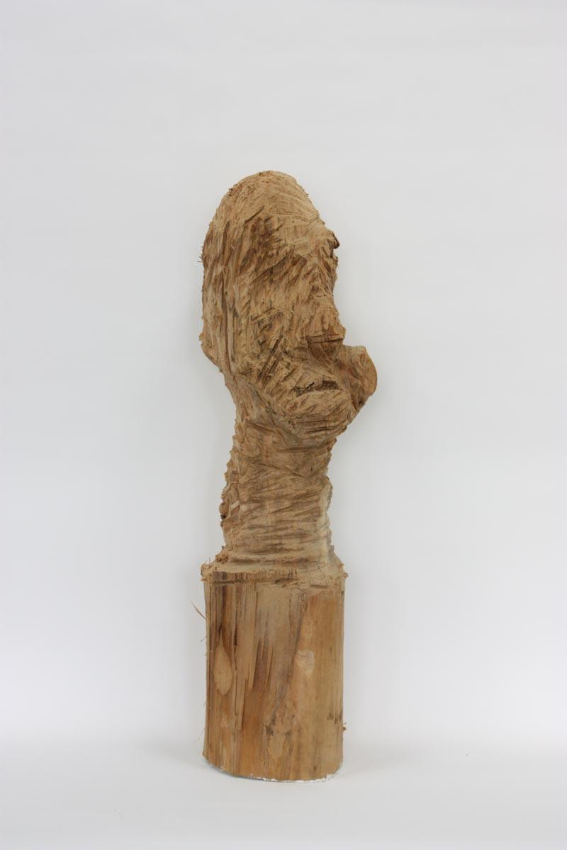 Holzskulptur