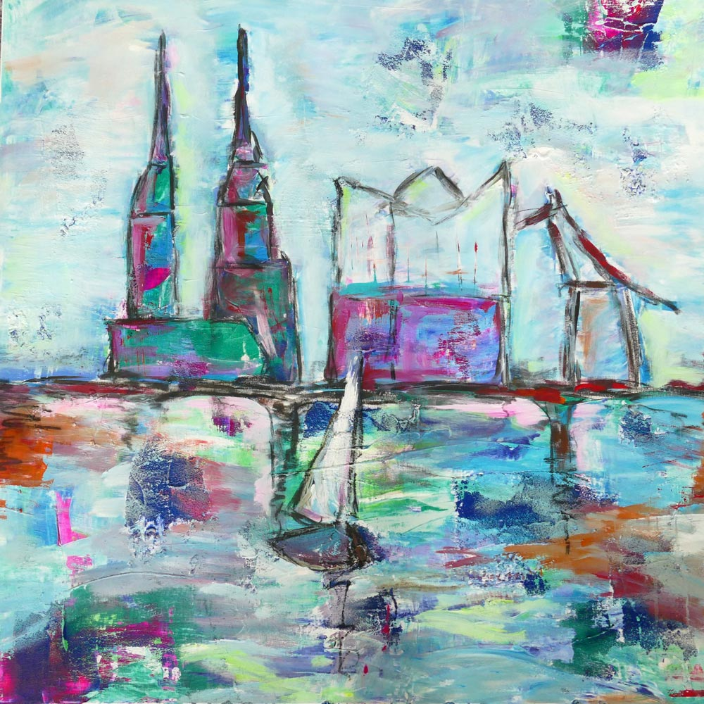 Vera_Nienkemper Skyline Hamburg