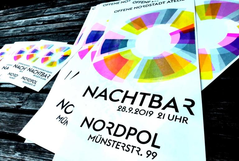 nachtbar im nordpol - Plakate und Flyer