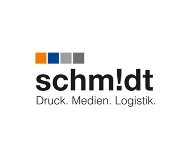 Logo Druckerei Schmidt