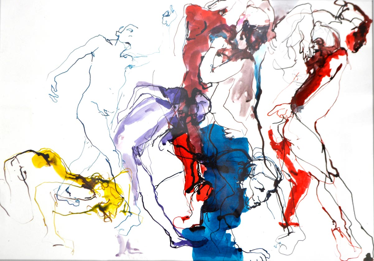 Tänzer von Doris Goldbach