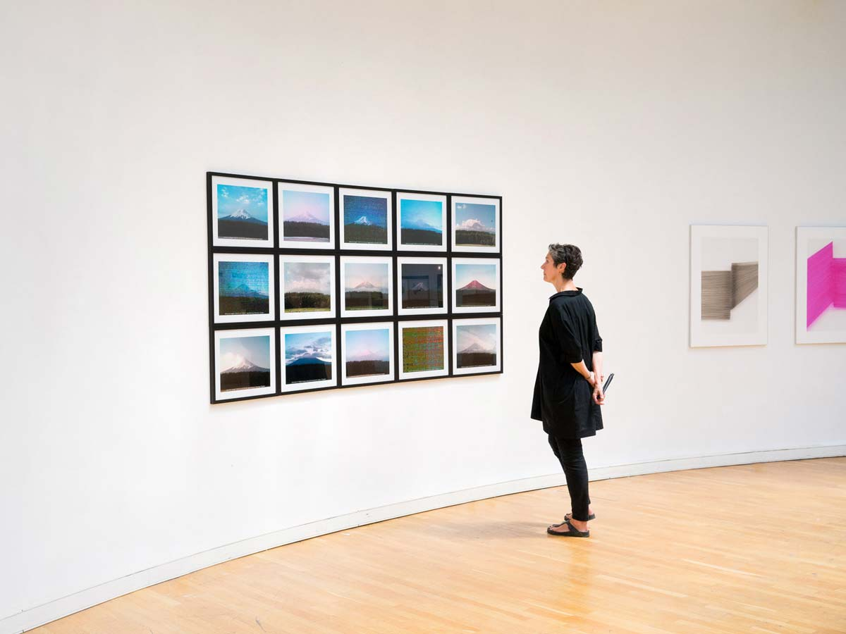 Jens Sundheim 100100 Views of Mount Fuji Ausstellungsansicht