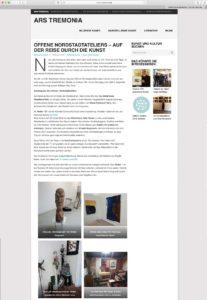 arstremonio-website screenshot